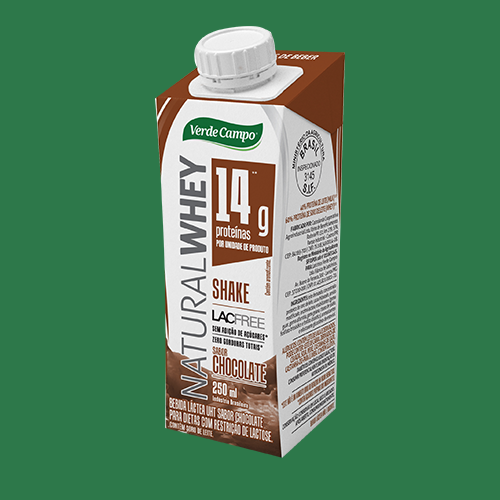 Verde Campo - Natural Whey Shake - Chocolate